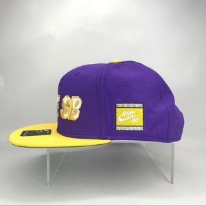 Nike Accessories - NIKE SB X NBA ICON Snapback Cap - LA Laker Colors